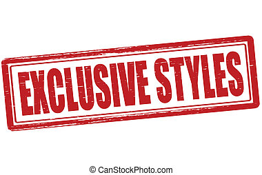 Exclusive styles