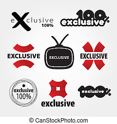 exclusive vector logos