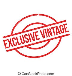 Exclusive Vintage rubber stamp