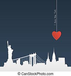 exclusor, silueta, york, novo