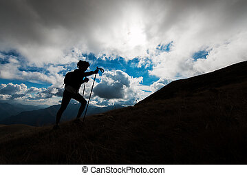 Excursion n the mountain