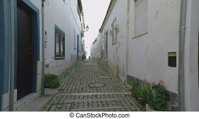 Excursion to ancient streets, the cities of Albufeira. -...