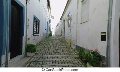 Excursion to the ancient streets, cities of Albufeira. -...