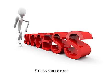 executando, sucesso