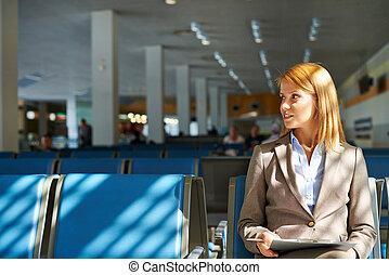 executiva, aeroporto