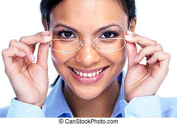 executiva, com, glasses.