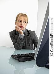 executiva, computer.