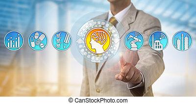Executive Adding AI to Drug Manufacturing Line