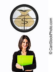 executive business woman target