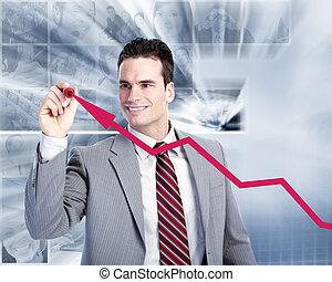 Executive businessman.