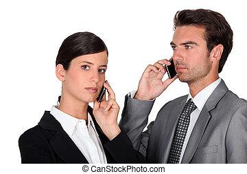 Executive couple