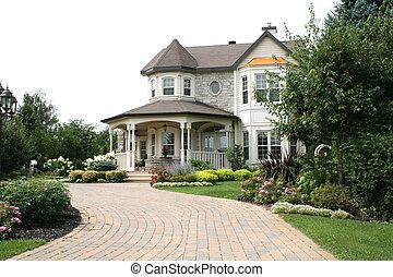 Executive House with Circular Drive