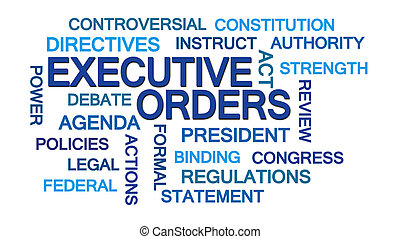Executive Orders Word Cloud