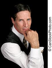 Executive Portrait - serious