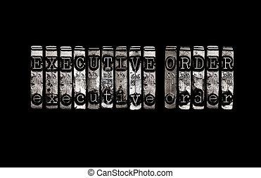executivo, ordem