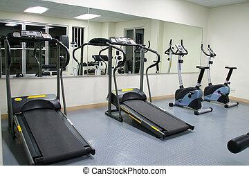 exercício, ginásio
