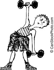 exercícios, manhã