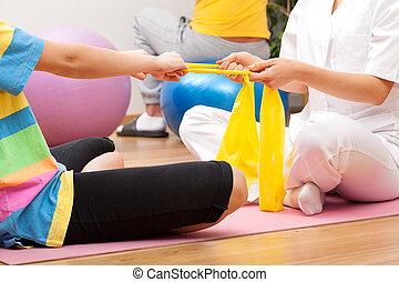 exercices, patient