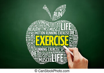 EXERCISE apple word cloud