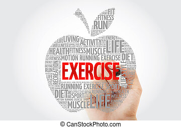 EXERCISE apple word cloud with marker