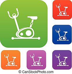 Exercise bike set collection