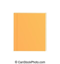 exercise books over the white background. School supplies