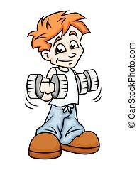 Exercise - Cartoon Boy