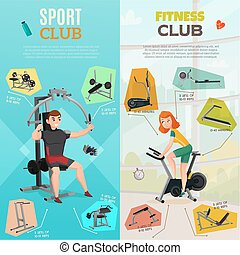 Exercise Equipment Banners