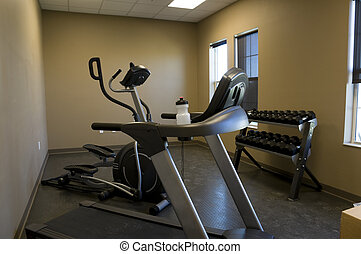 Exercise Room at Fire Station