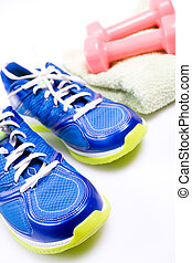 Exercise - Stay fit with exercises, fitness concept