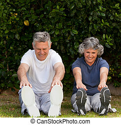 exercises, пара, их, в отставке