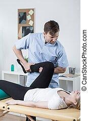 exercises, физиотерапевт