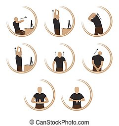 exercises - Exercise to Relax body From Computer Stress