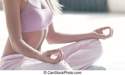 Exercises for beginners to practice yoga - Yoga exercises in...