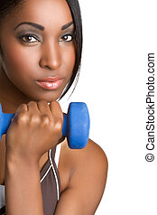 Exercising Black Woman