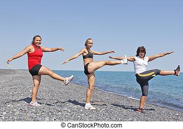 exercitar, mulheres