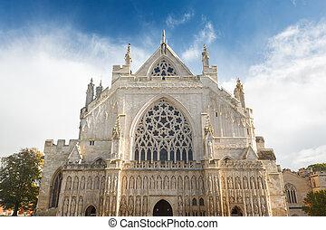 exeter, cattedrale, devon, inghilterra, regno unito