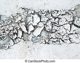 Exfoliate surface closeup background.
