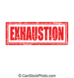 Exhaustion-stamp