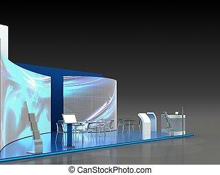 Exhibition Stand Interior - Exterior Sample