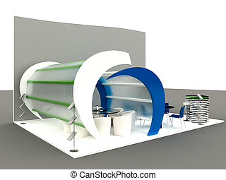 Exhibition Stand Interior-Exterior Samples Series