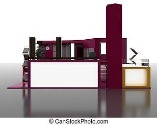 Exhibition Stand Interior Sample - Interiors Series