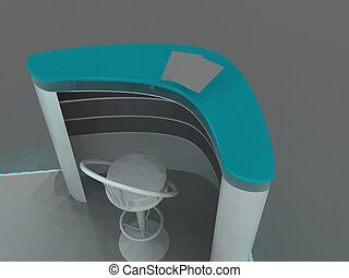 Exhibition Stand Interior/Exterior Sample