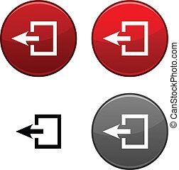 Exit button.