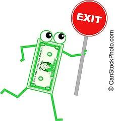 exit dollar