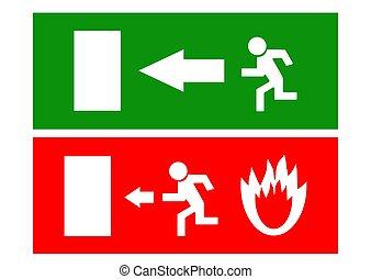 exit icon vector illustration