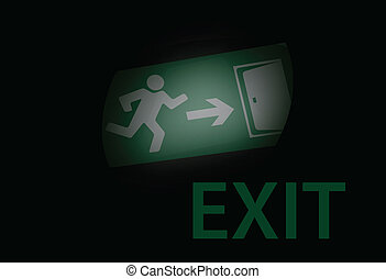 Exit in the dark