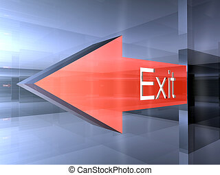 Exit - This way