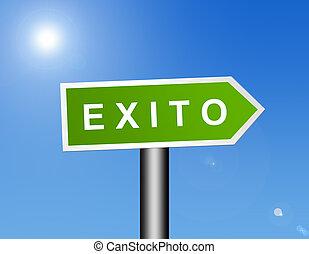 exito sign