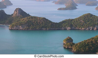exotic ang thong national marine park landmark